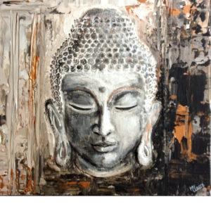 Buddha – Online festés
