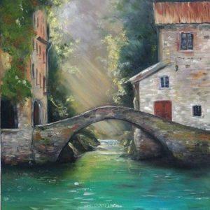 Híd a folyó felett