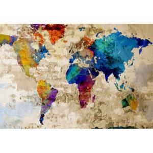 Föld ahogy mi látjuk – Páros festés – Kezdőknek