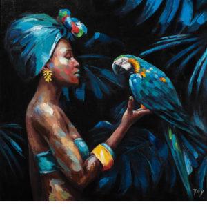Papagájok a gyönyörű nővel – Haladóknak