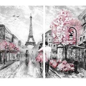 Párosan Párizsban – Páros festés -Középhaladóknak
