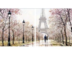 Romantika Párizsban – Páros festés