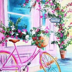 Bicikli a virágokkal – Kezdőknek
