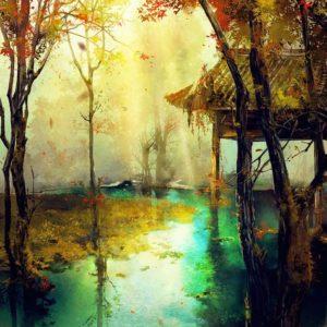 Rejtelmes őszi erdő – Kezdőknek