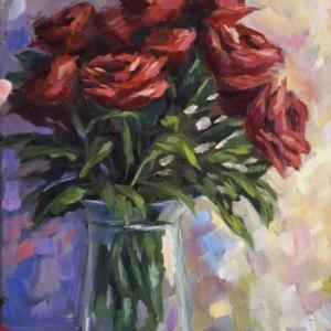 Rózsa csokor – középhaladóknak
