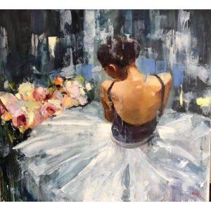 Táncos lány gyönyörű ruhában – Középhaladóknak