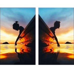 Együtt utazunk – Páros festés – Kezdőknek