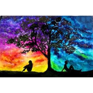 Milkyway Sky – Páros Festés – kezdőknek