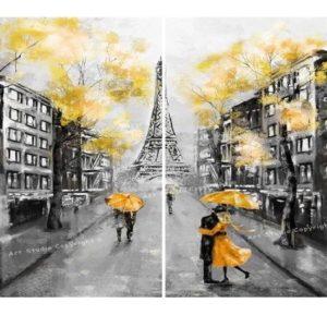 Párosan Párizsban – Páros festés – Kezdőknek