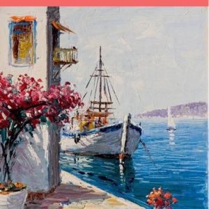 Görög kikötő – VIDEÓS festés