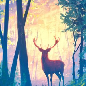 Szarvas az erdőben – Kezdőknek