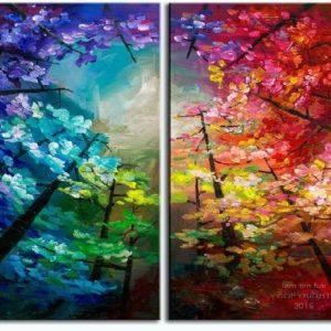 Te meg én fa festés – Páros festés – Kezdőknek