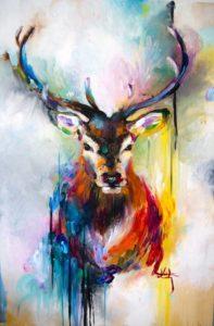 Ismeretlen festő: Szarvas