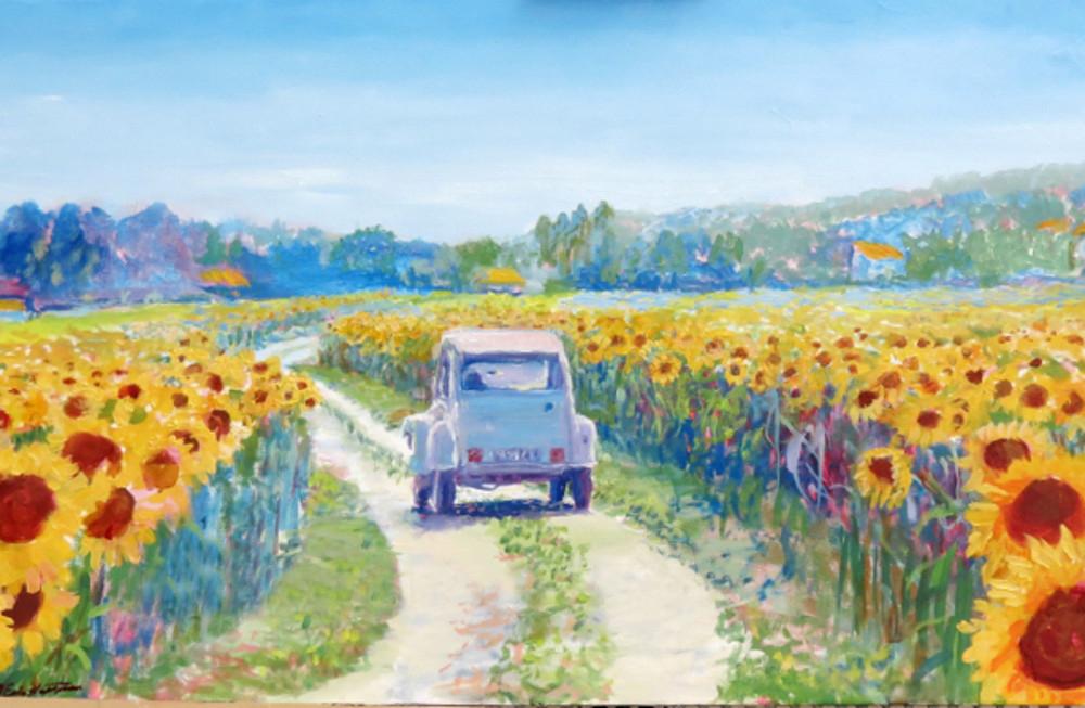 H. Eric Hartman: Nyár Provence-ban