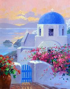 Mikki Senkarik: Santorini