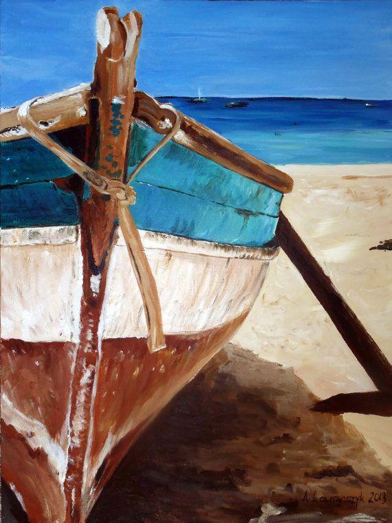 Ismeretlen festő- Tengeri csónak