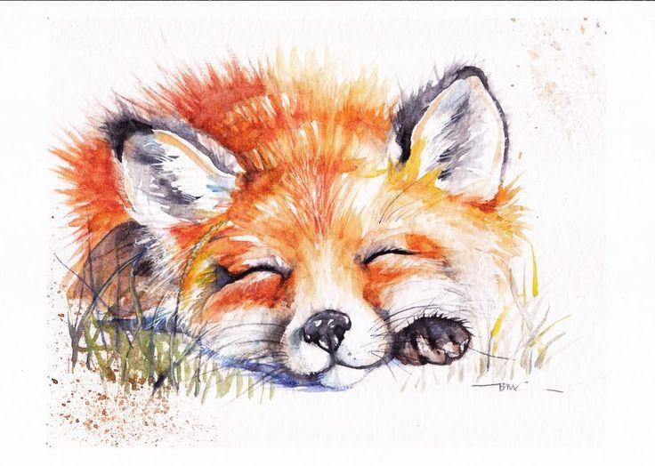 Pihenő róka
