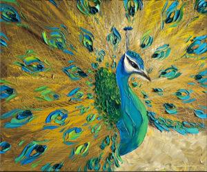 Ismeretlen festő - Arany páva