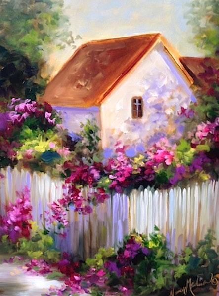 Nancy Medina - Virághalmok között megbúvó ház