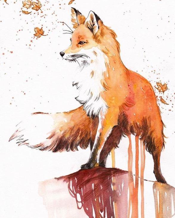 Deviant Art - A róka figyel