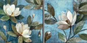 Ismeretlen festő - Virágok - Páros festés 2