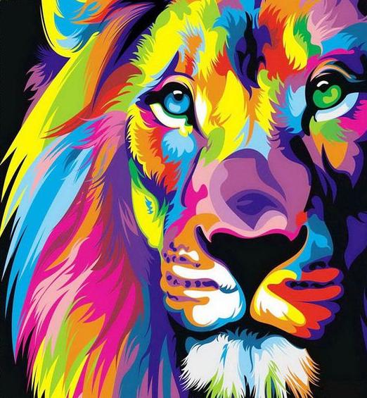 Színes oroszlán