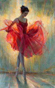 Daniel Gerhartz - piros balerina