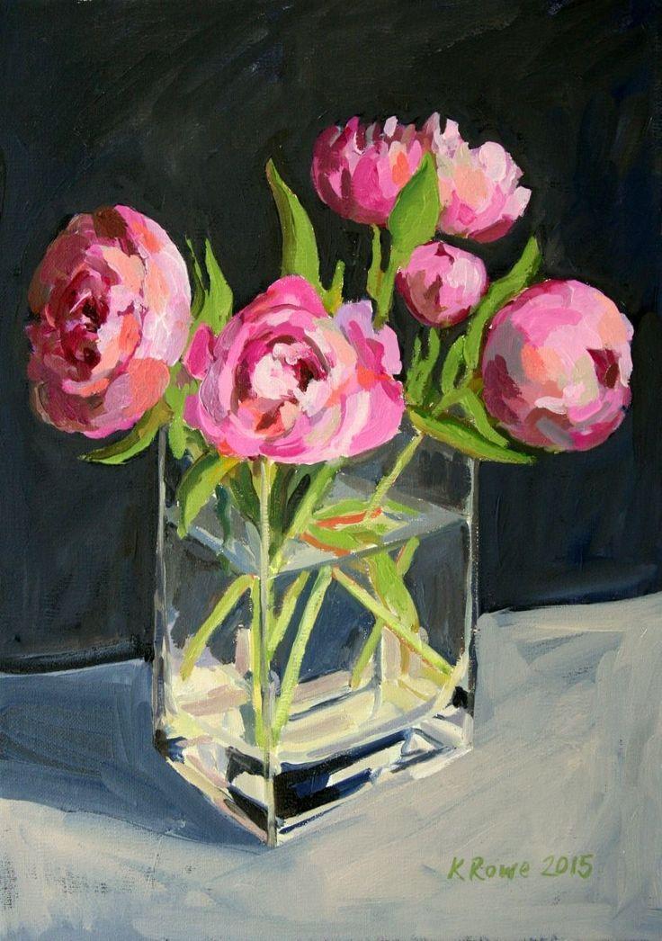 K Rowe - Bazsarózsák vázában
