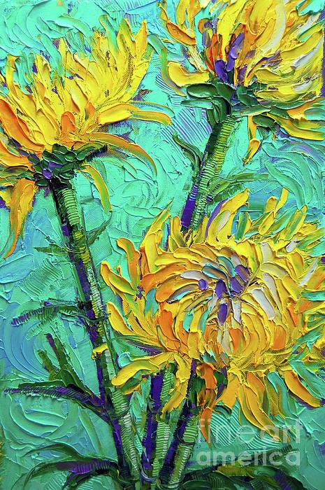 Mona Edulesco - Sárga virágok