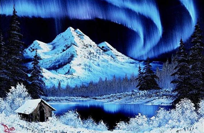 Bob Ross - Északi fény