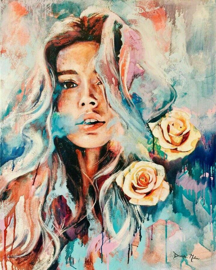 Dimitra Milan - Titokzatos lány a rózsákkal