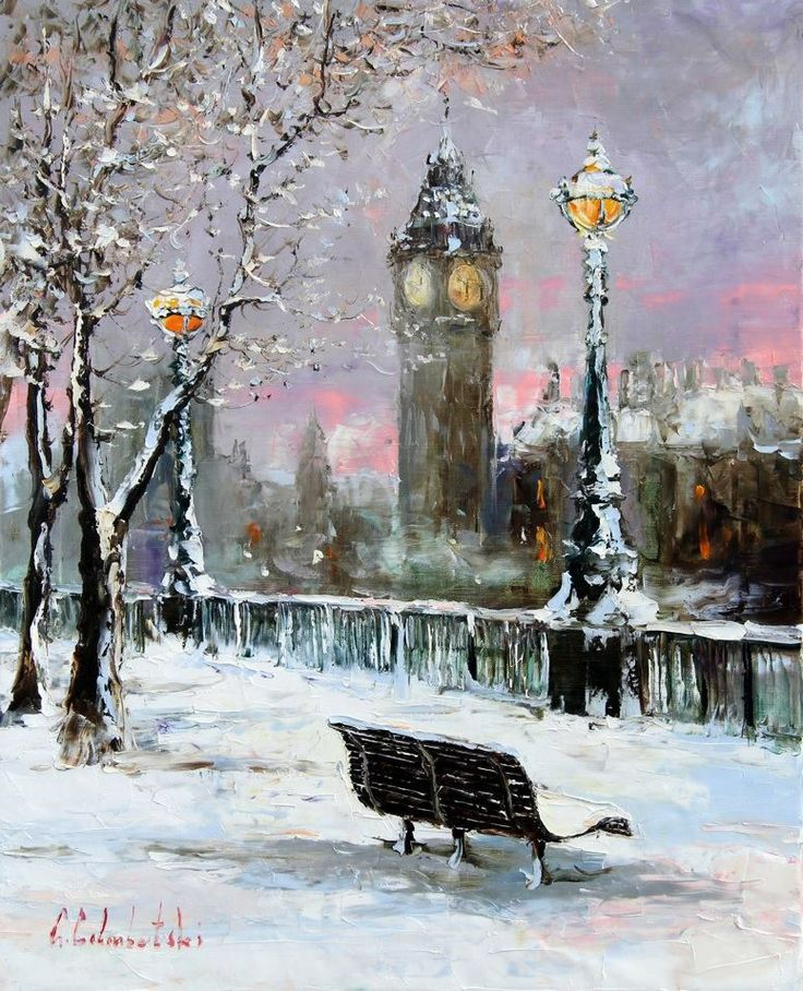 Gleb Goloubetski - Téli London