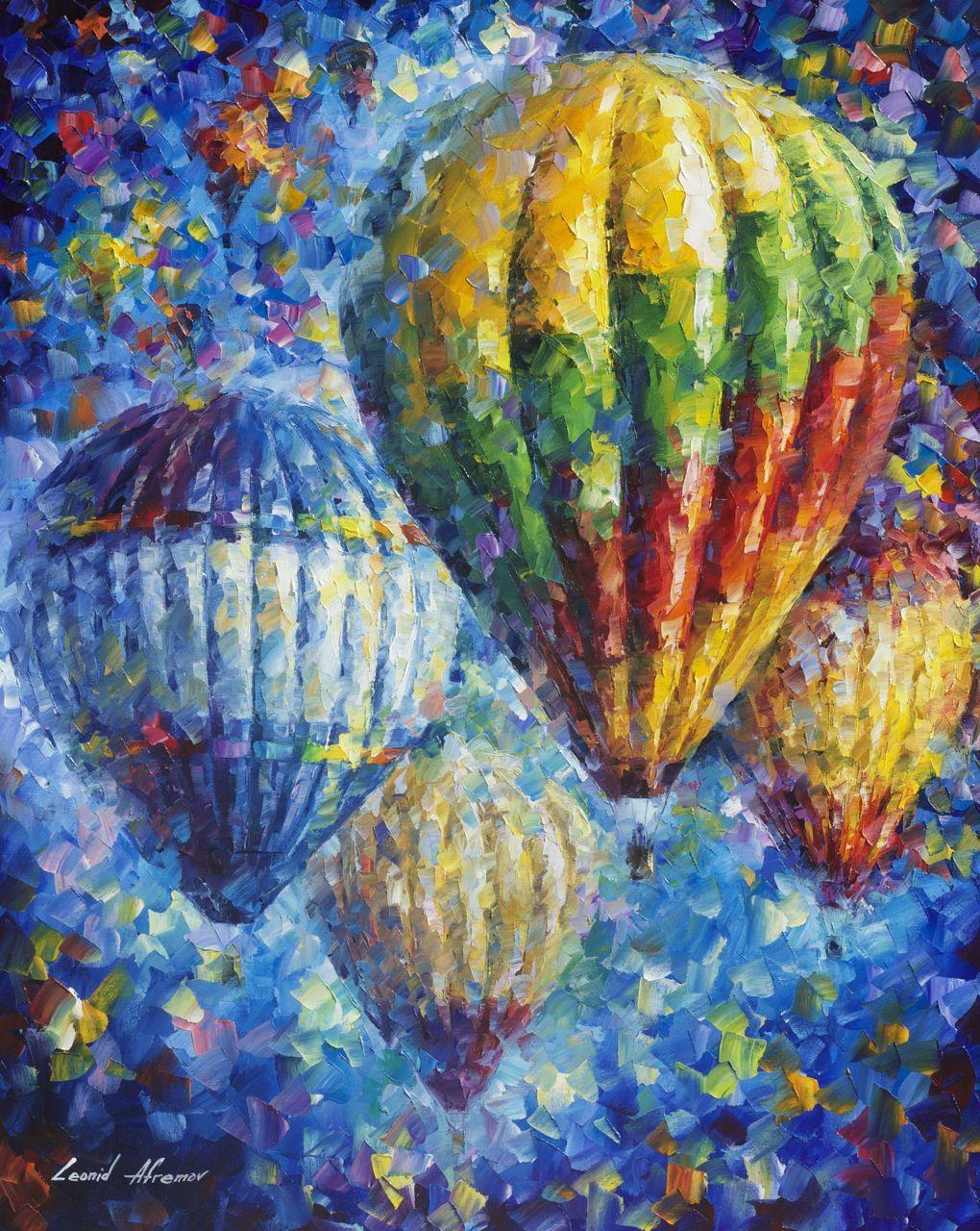 Leonid Afremov - Hőlégballonok