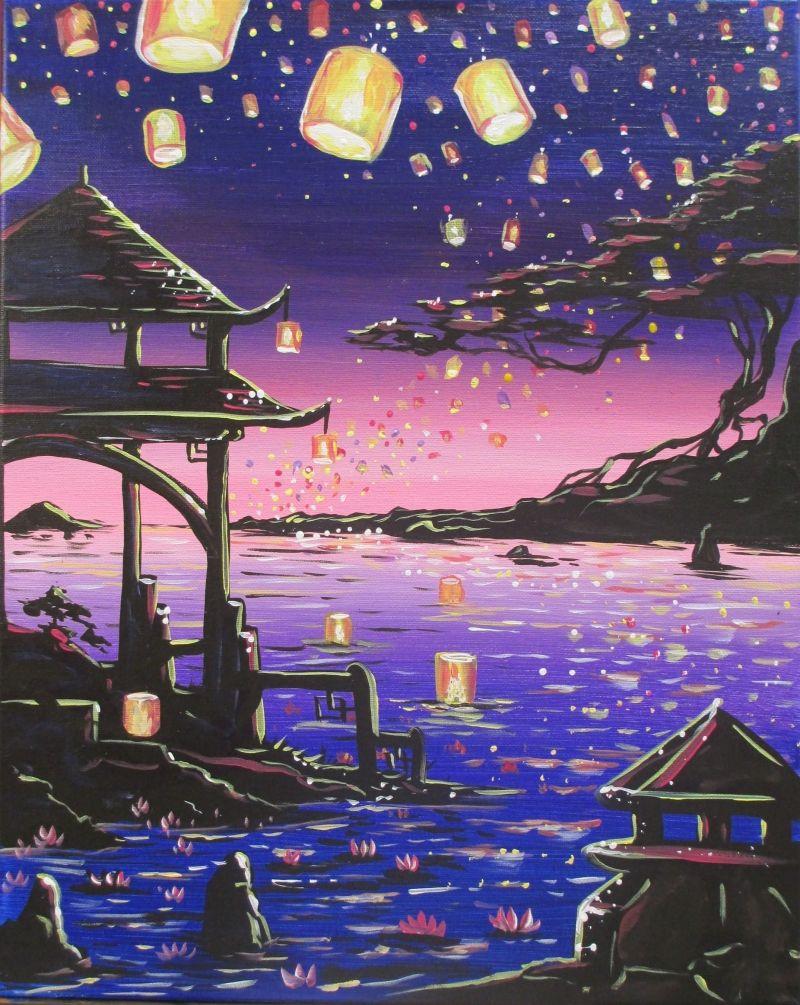 Úszkáló lámpások