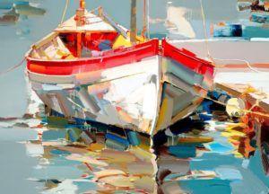 Színes csónak