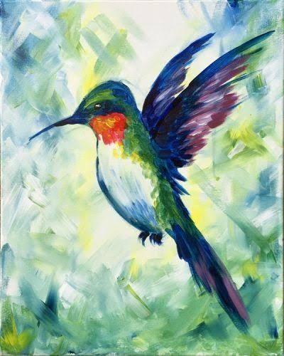 Színes kolibri