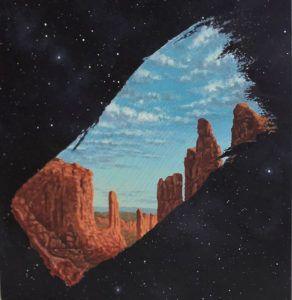 Ismeretlen festő - A csillagok között