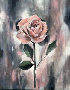Pasztell rózsa
