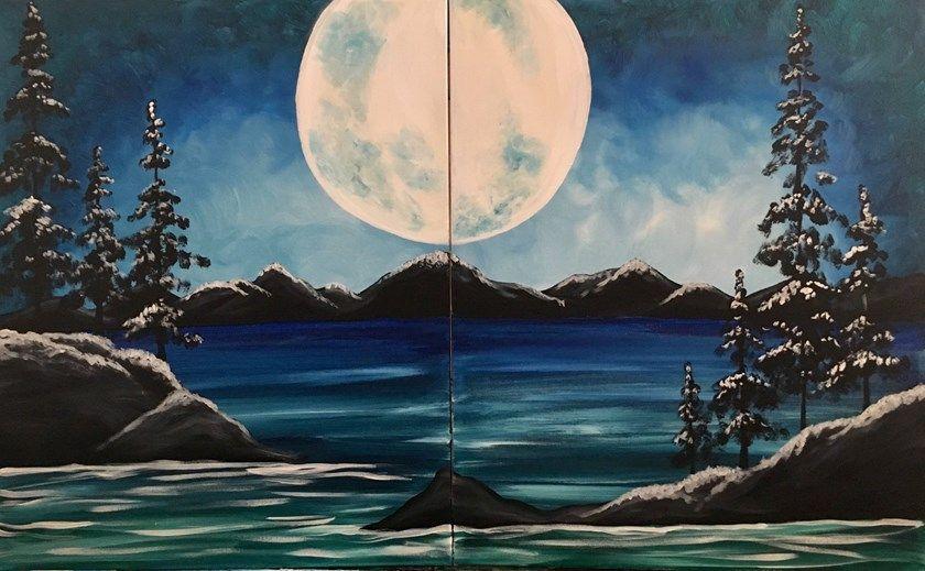 Párosan az éjszakában - Páros festés