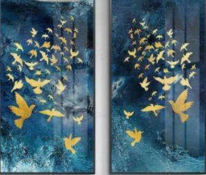 Arany madárkák - Páros festés