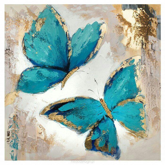 Türkiz és arany pillangók