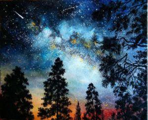 világító égbolt