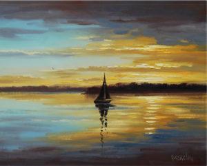 Graham Gercken - Vitorlás a vízen