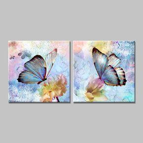 Pillangók - PÁros festés