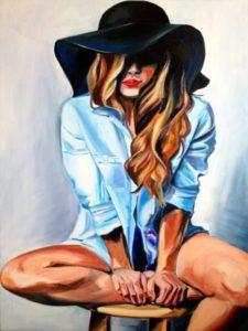 Titokzatos lány a kalapban
