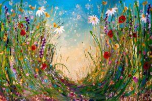 Virágtenger - Páros festés