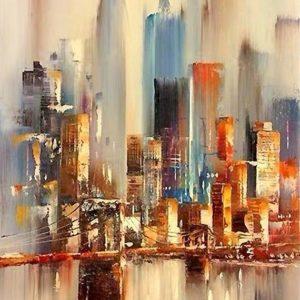 Absztrakt New York – Stúdiós festés