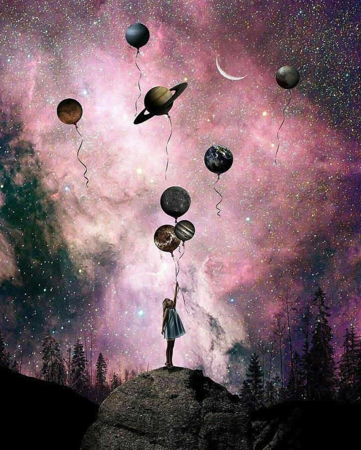 Galaxis alatt - YourArt - Otthoni élményfestő szett
