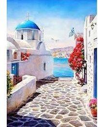 Santorini - YourArt - Otthoni élményfestő szett