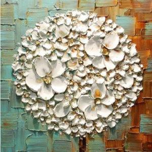 3d virágok – Stúdiós festés